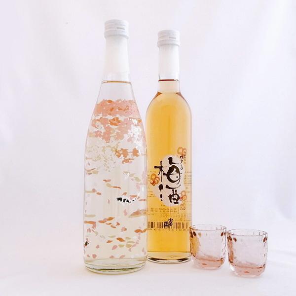 【送料込み】AK桜ボトル・ワタシの梅酒セット