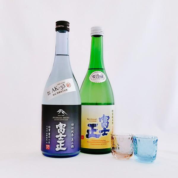 【送料込み】AK特別純米生原酒・富士正特別純米生原酒美山錦セット